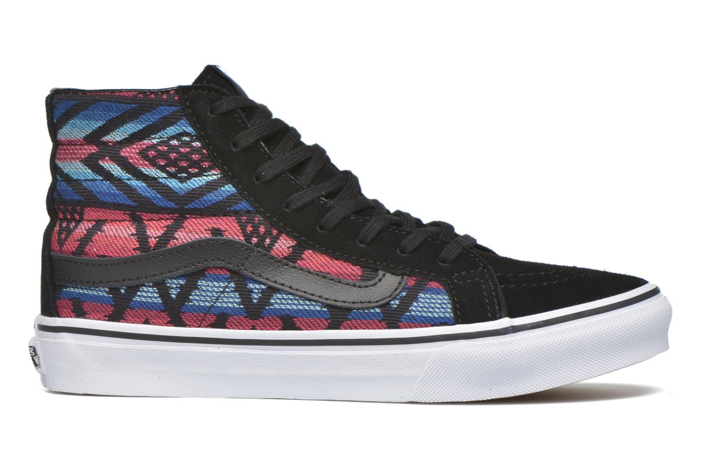 Baskets Vans Sk8-Hi Slim W Multicolore vue derrière