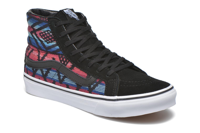 Baskets Vans Sk8-Hi Slim W Multicolore vue détail/paire