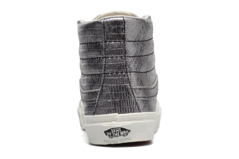 Sneaker Vans Sk8-Hi Slim W silber ansicht von rechts
