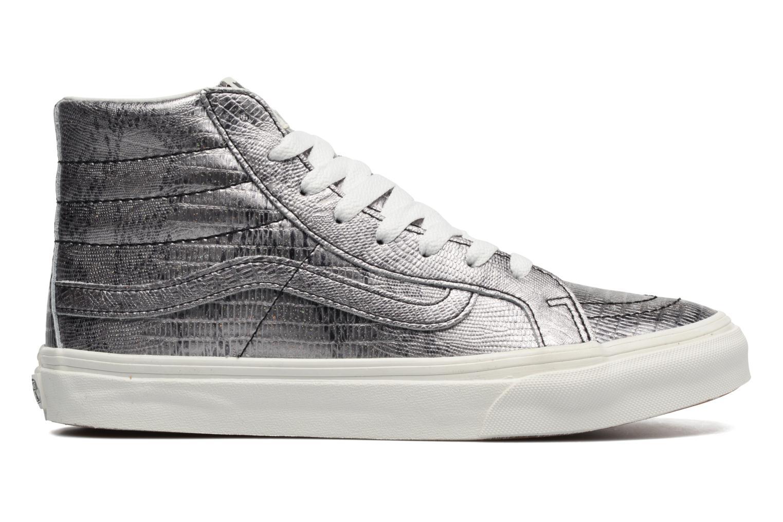 Sneaker Vans Sk8-Hi Slim W silber ansicht von hinten