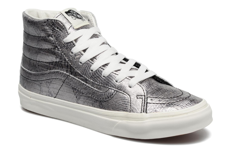 Sneaker Vans Sk8-Hi Slim W silber detaillierte ansicht/modell