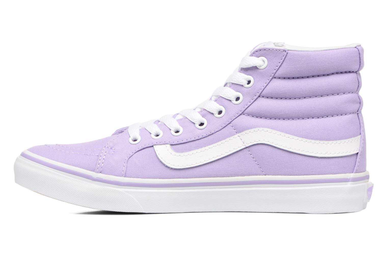 Sneaker Vans Sk8-Hi Slim W lila ansicht von vorne