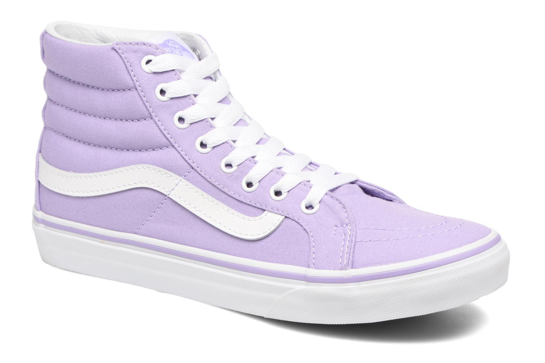 Baskets Vans Sk8-Hi Slim W Violet vue détail/paire