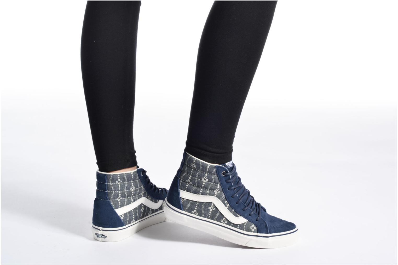 Sneaker Vans Sk8-Hi Reissue W weiß ansicht von unten / tasche getragen