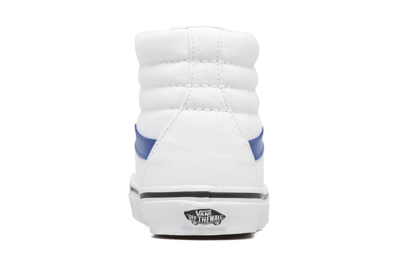 Baskets Vans Sk8-Hi Reissue W Blanc vue droite