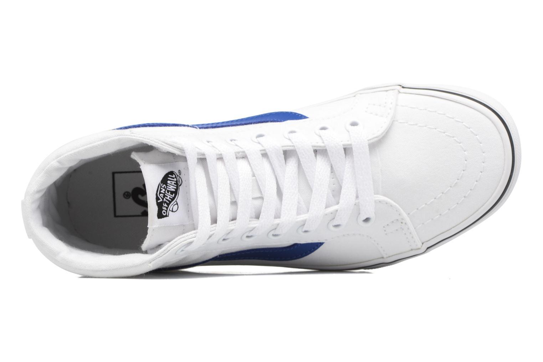 Baskets Vans Sk8-Hi Reissue W Blanc vue gauche
