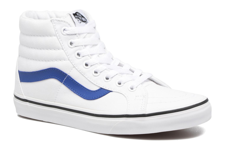 Baskets Vans Sk8-Hi Reissue W Blanc vue détail/paire