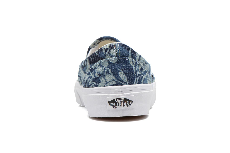 Baskets Vans Classic Slip-On W Multicolore vue droite