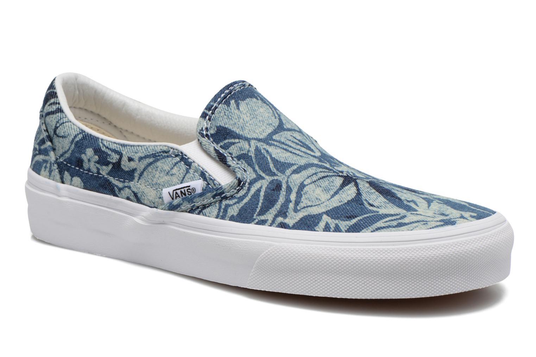 Classic Slip-On W (Indigo Tropical) blue/true white
