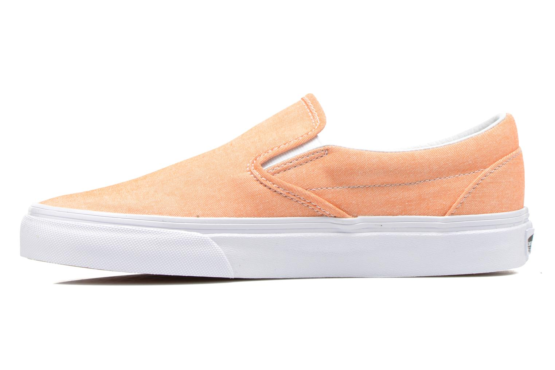 Sneaker Vans Classic Slip-On W orange ansicht von vorne