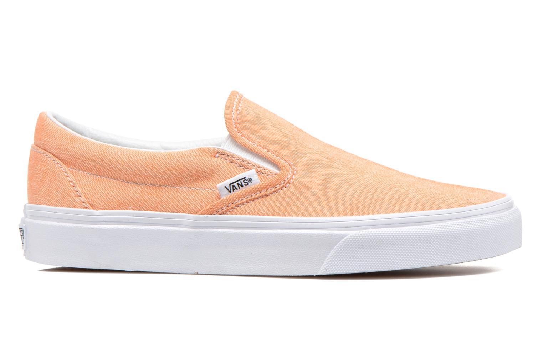 Sneakers Vans Classic Slip-On W Oranje achterkant