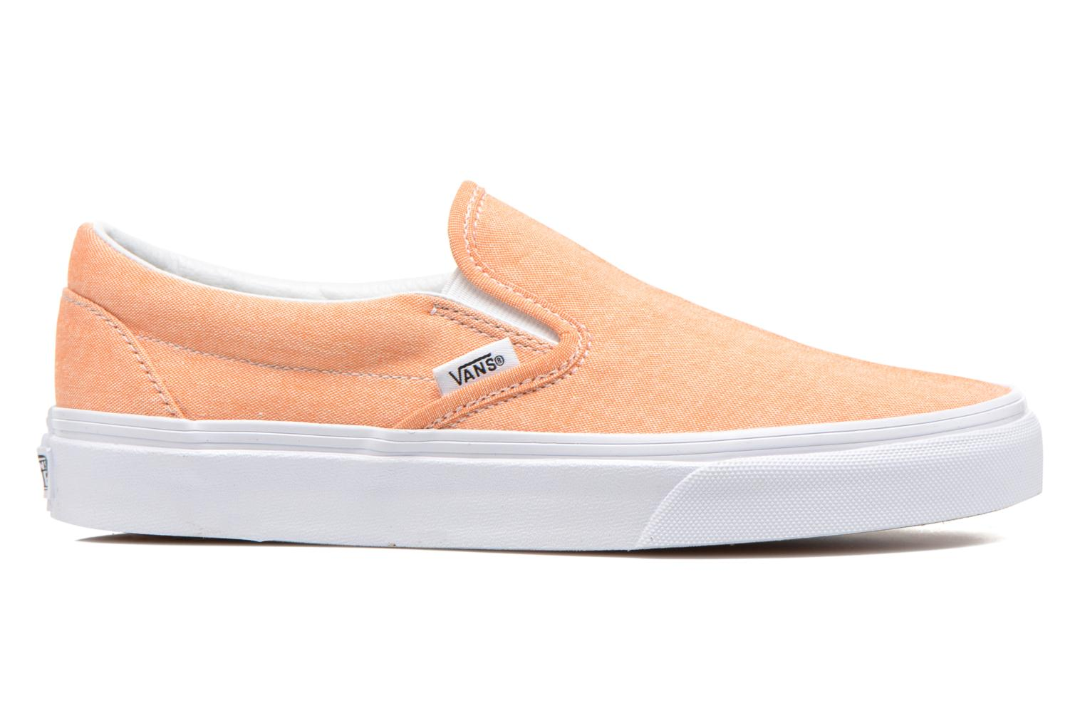 Sneakers Vans Classic Slip-On W Orange bild från baksidan