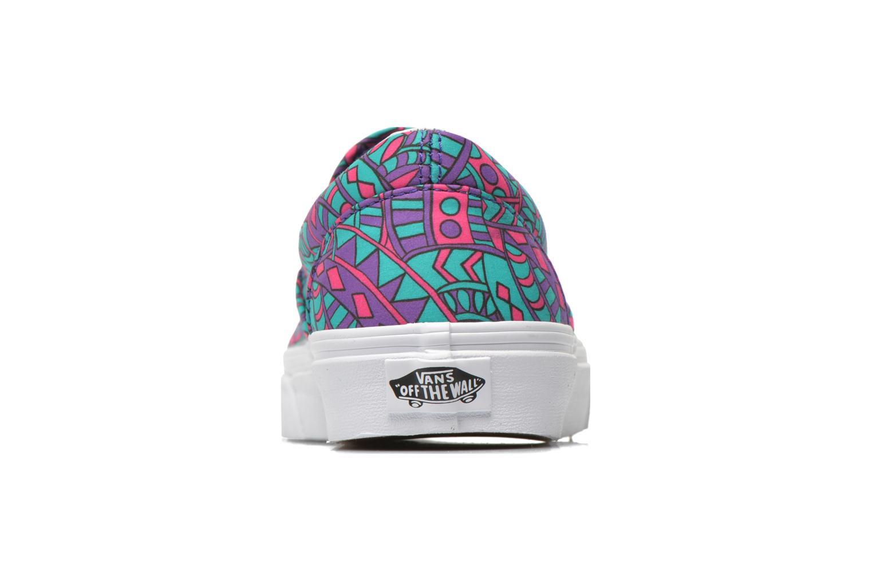 Sneaker Vans Classic Slip-On W mehrfarbig ansicht von rechts