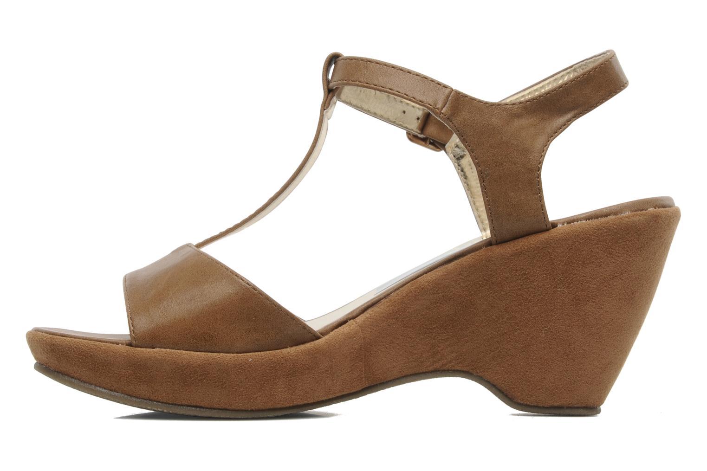 Sandales et nu-pieds I Love Shoes Thajante Marron vue face