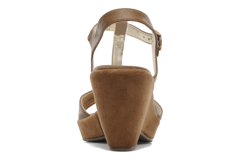 Sandales et nu-pieds I Love Shoes Thajante Marron vue droite