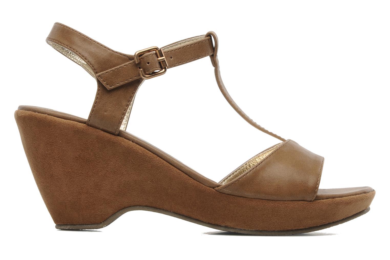Sandales et nu-pieds I Love Shoes Thajante Marron vue derrière