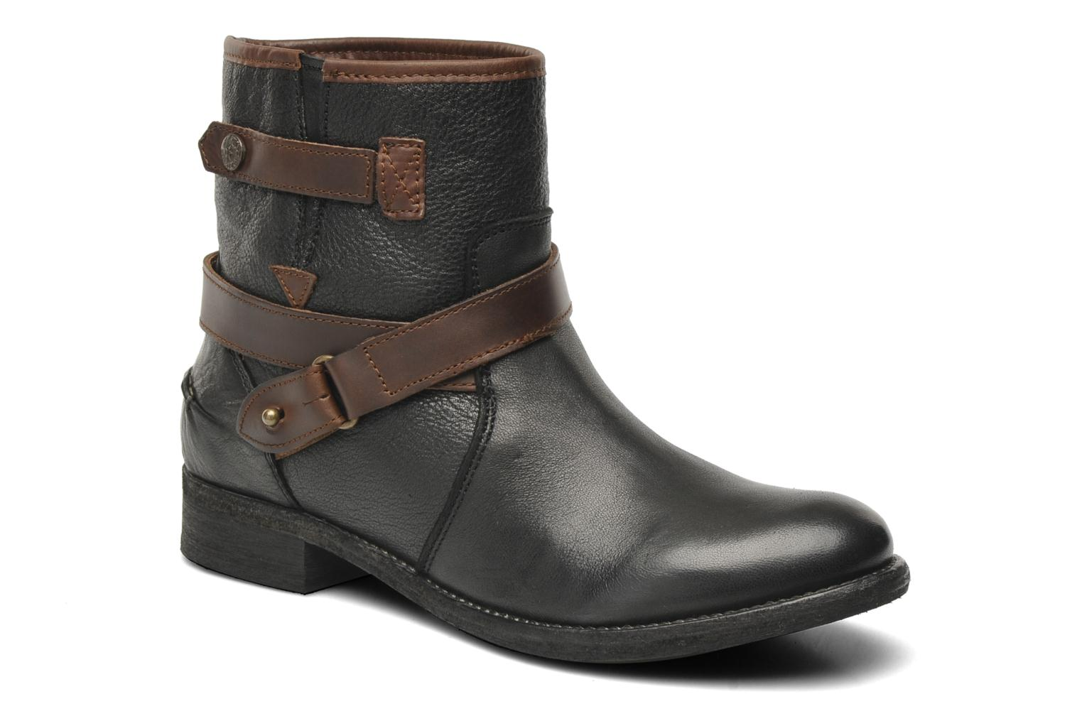 Ankle boots Koah Fulya Black detailed view/ Pair view