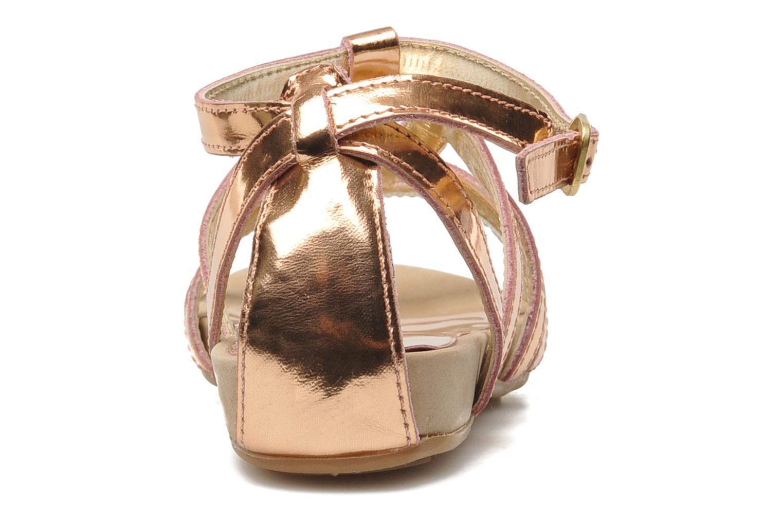 Sandales et nu-pieds Unisa MATRIX MI Or et bronze vue droite