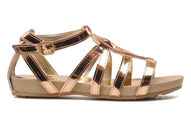 Sandales et nu-pieds Unisa MATRIX MI Or et bronze vue derrière
