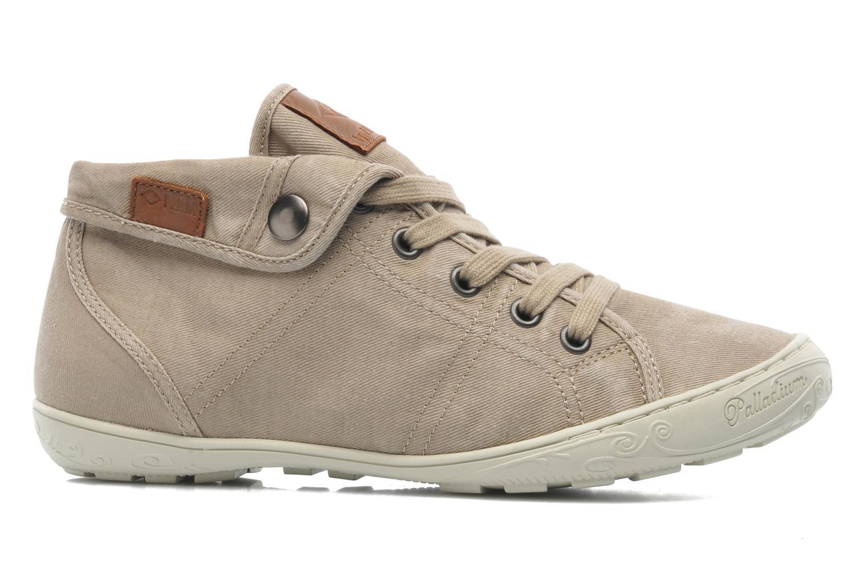 Sneakers P-L-D-M By Palladium Gaetane Twl Beige achterkant