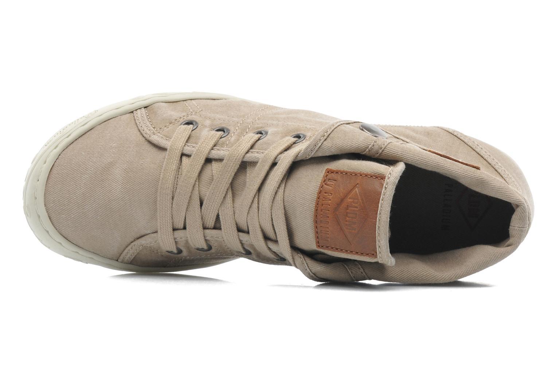 Sneakers P-L-D-M By Palladium Gaetane Twl Beige se fra venstre