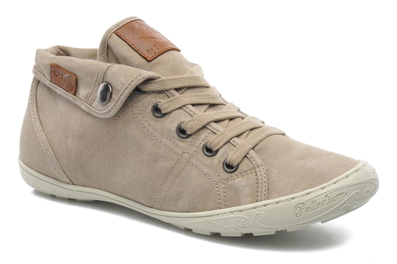 Sneakers P-L-D-M By Palladium Gaetane Twl Beige detaljeret billede af skoene