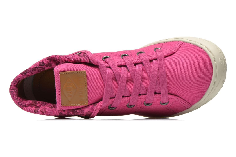 Sneaker P-L-D-M By Palladium Gaetane Twl rosa ansicht von links
