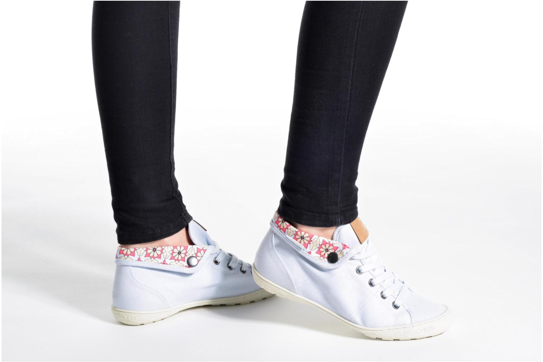 Sneakers P-L-D-M By Palladium Gaetane Twl Blå bild från under