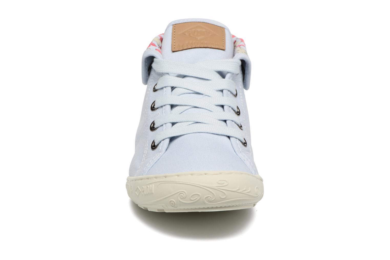 Baskets P-L-D-M By Palladium Gaetane Twl Bleu vue portées chaussures