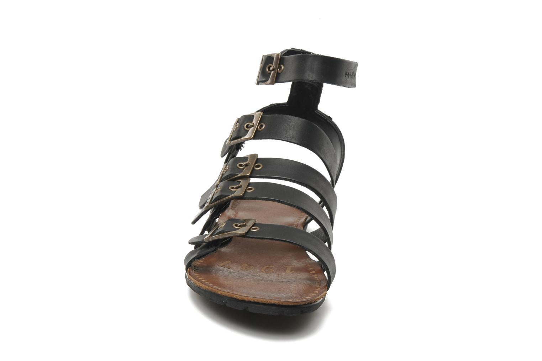 Sandalen P-L-D-M By Palladium Prissy schwarz schuhe getragen
