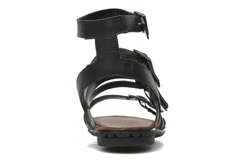 Sandalen P-L-D-M By Palladium Prissy schwarz ansicht von rechts