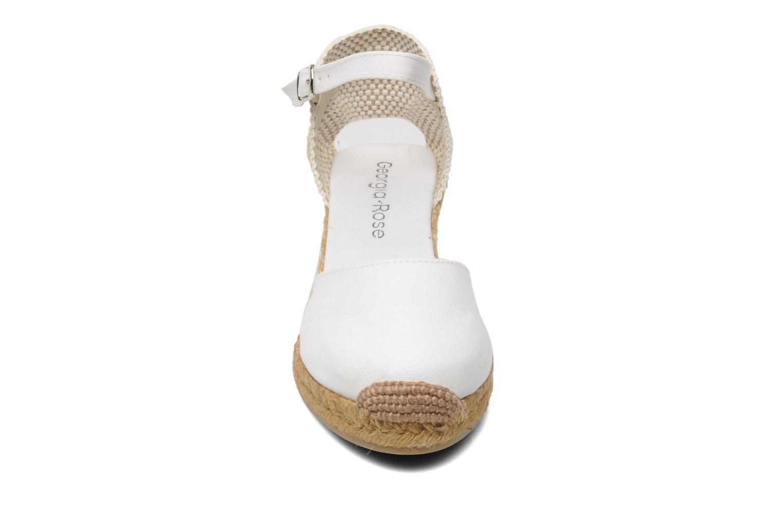 Sandales et nu-pieds Georgia Rose Ipona Blanc vue portées chaussures