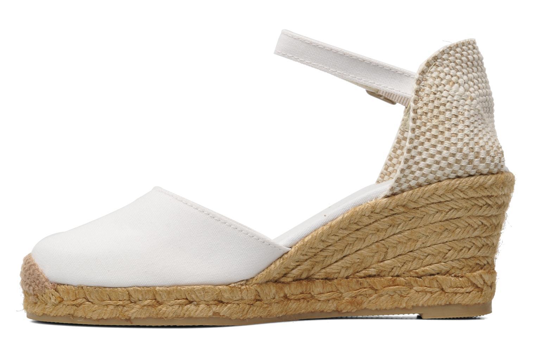Sandales et nu-pieds Georgia Rose Ipona Blanc vue face