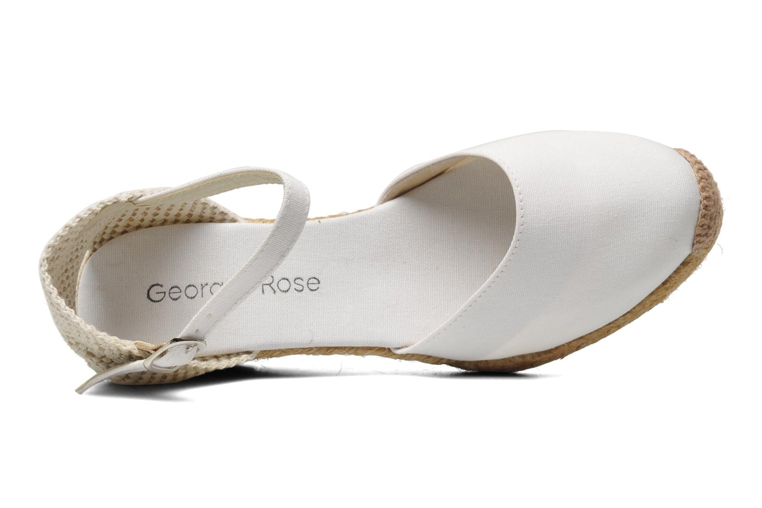 Sandals Georgia Rose Ipona White view from the left