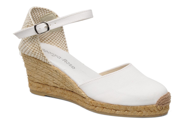 Sandales et nu-pieds Georgia Rose Ipona Blanc vue détail/paire