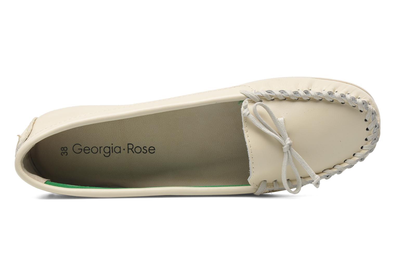 Slipper Georgia Rose Palapoca beige ansicht von links