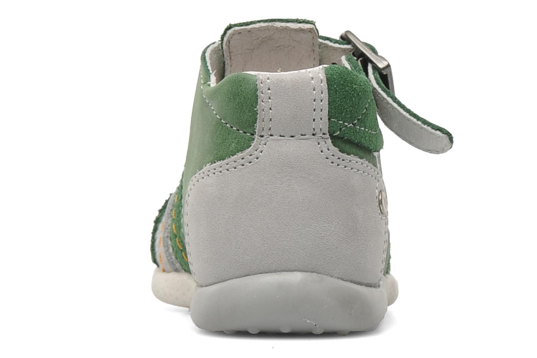 Sandalen Babybotte GIOVANI grün ansicht von rechts