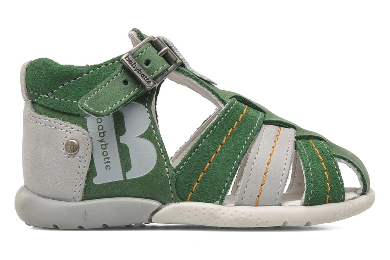 Sandalen Babybotte GIOVANI Groen achterkant