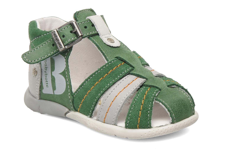 Sandalen Babybotte GIOVANI Groen detail