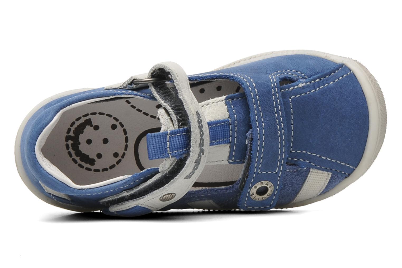 Chaussures à scratch Babybotte STYLI Bleu vue gauche
