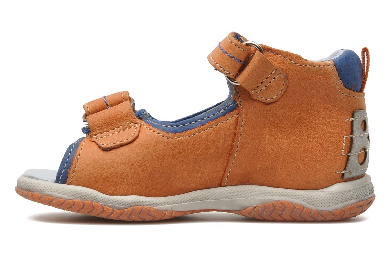 Sandaler Babybotte TITOUAN Orange bild från framsidan
