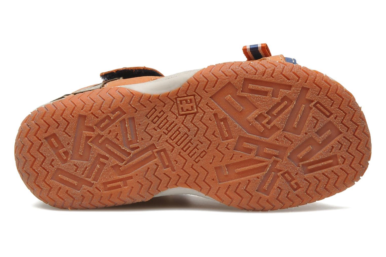 Sandalias Babybotte TITOUAN Naranja vista de arriba