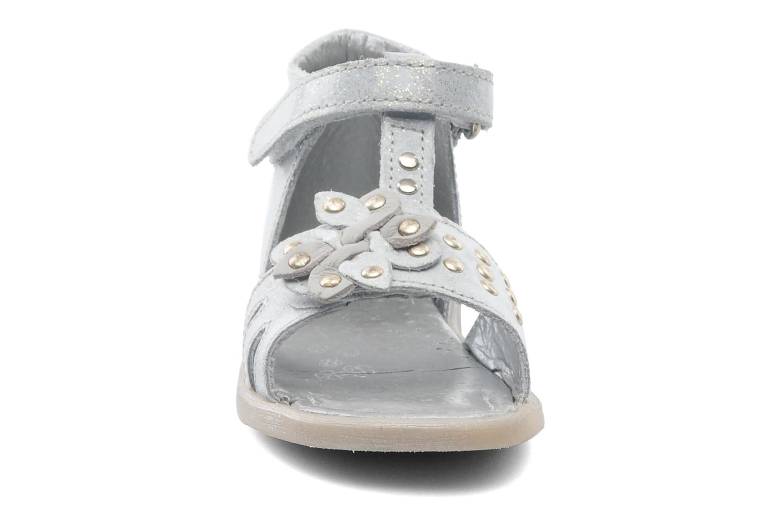 Sandalen Babybotte TAHIS grau schuhe getragen
