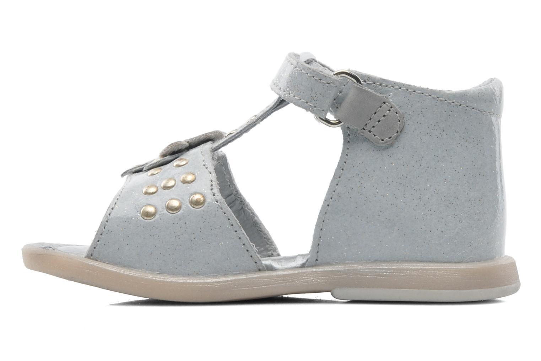 Sandalen Babybotte TAHIS grau ansicht von vorne