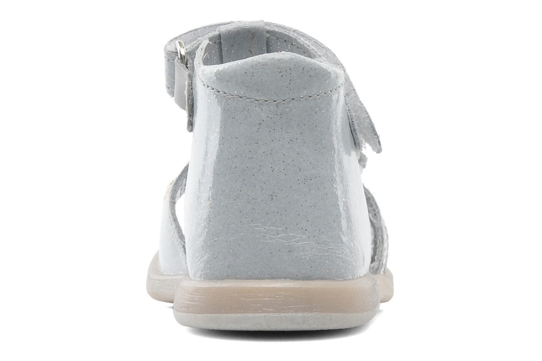 Sandalen Babybotte TAHIS grau ansicht von rechts