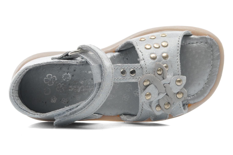 Sandalen Babybotte TAHIS grau ansicht von links