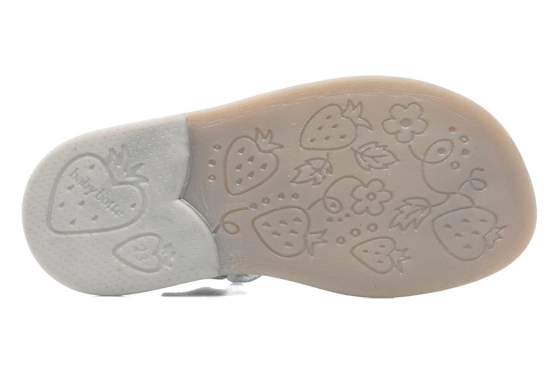 Sandalen Babybotte TAHIS grau ansicht von oben