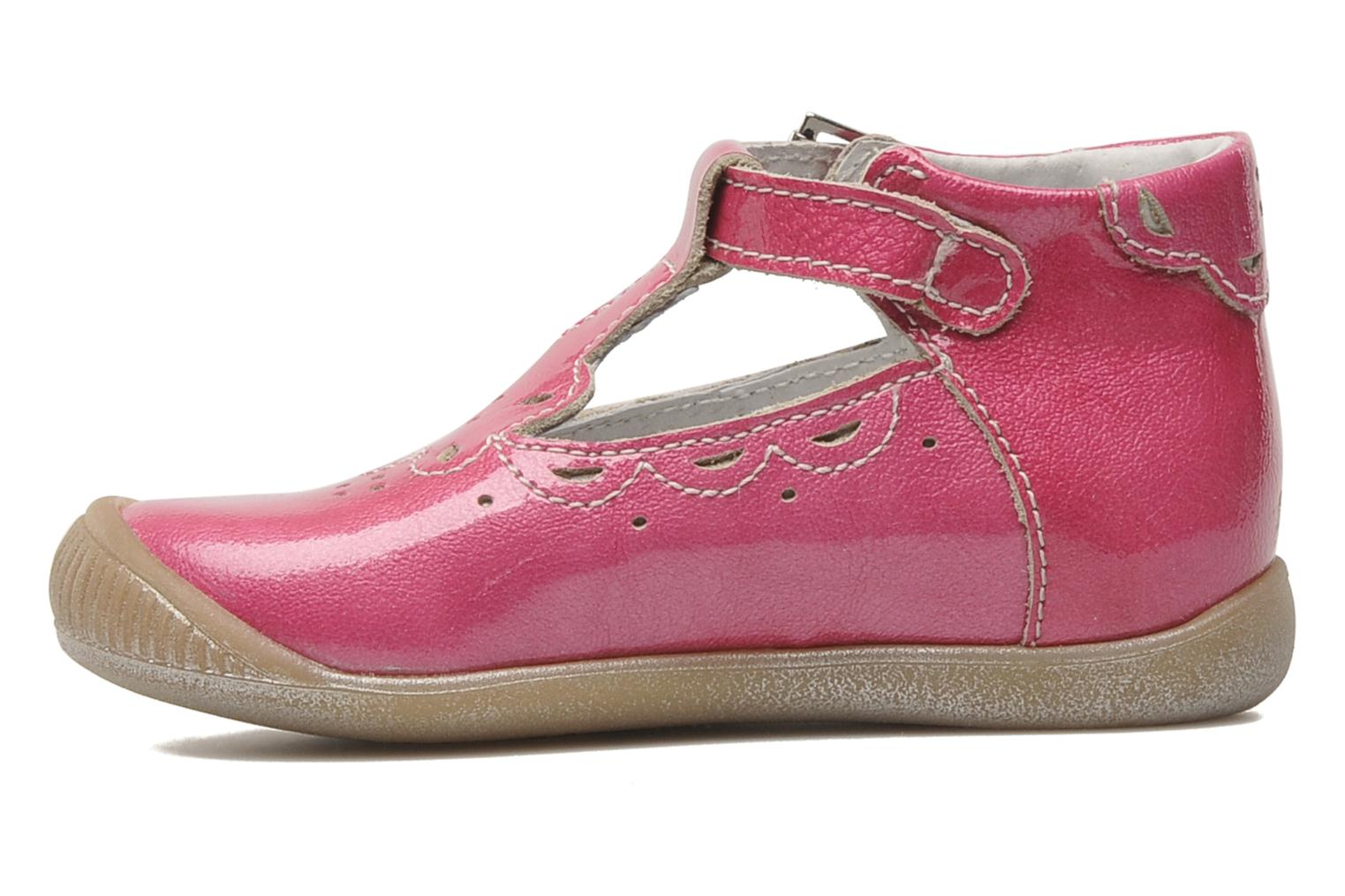 Summer boots Little Mary POMMETTE Pink front view