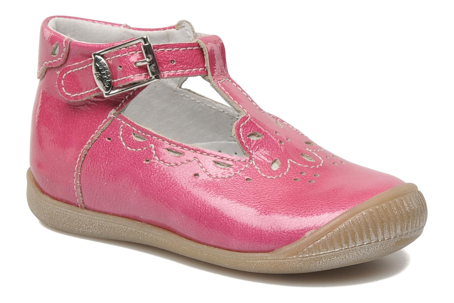 Summer boots Little Mary POMMETTE Pink detailed view/ Pair view