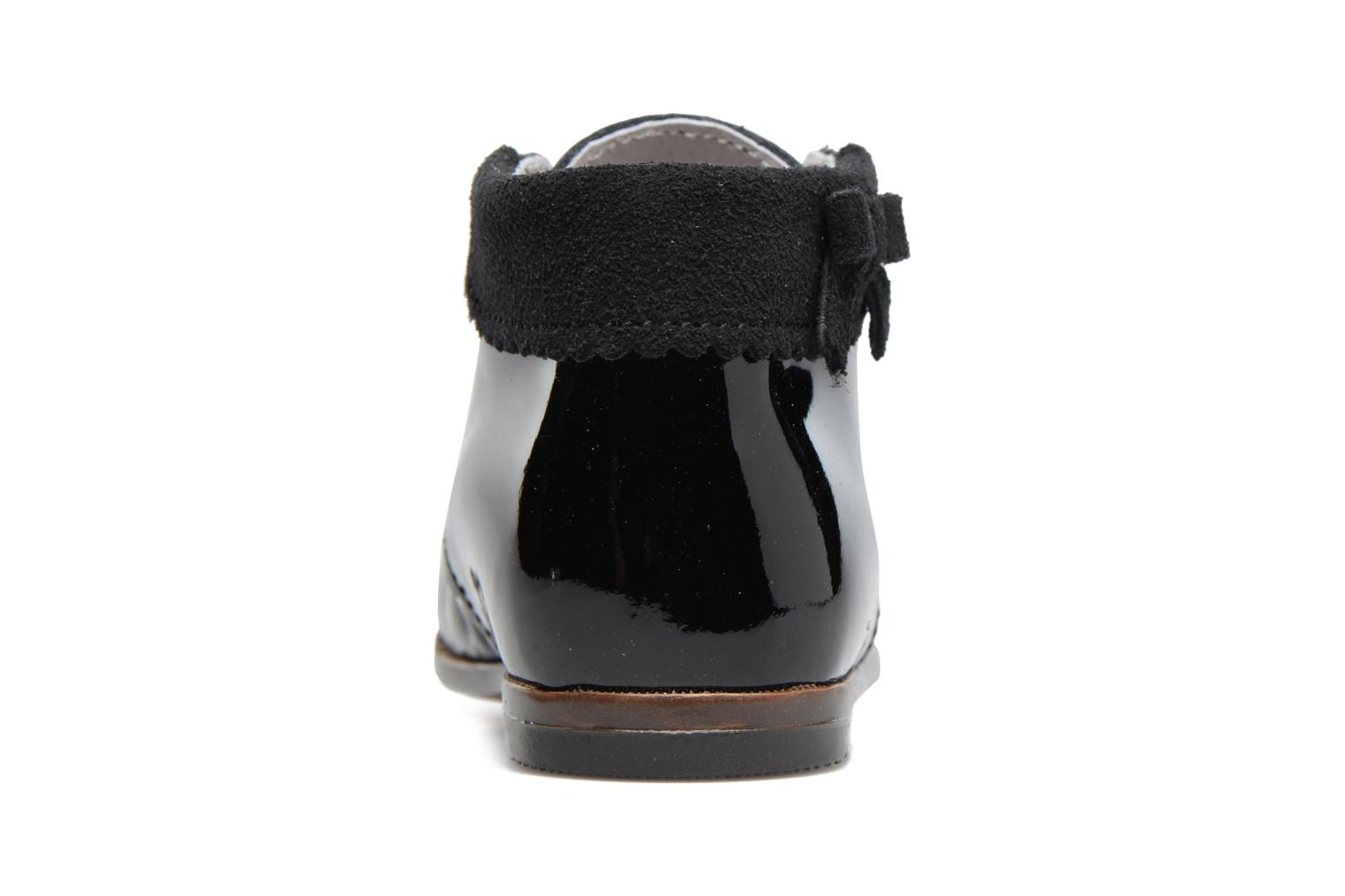 Ankle boots Little Mary OLEA Black view from the right